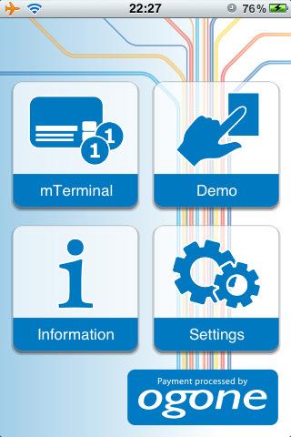Belgium iPhone Forum - belgium-iphone.lesoir.be • Consulter le sujet - OGONE M Terminal > moyen de payement électro...